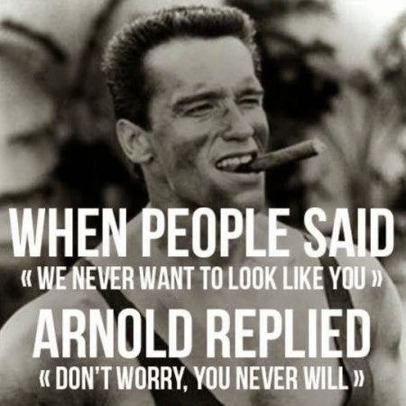 Arnold Replied